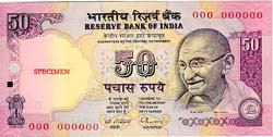 Image : Rupees Fifty